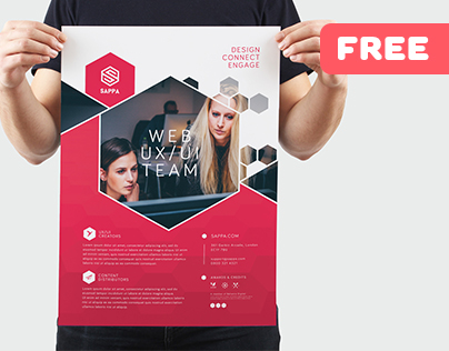 Sappa Promotional Services -– Free Flyer Template