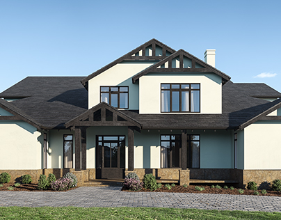 American Style Home