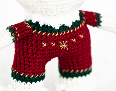Christmas Rabbit toy