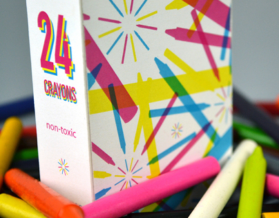 Crayon Package Designs
