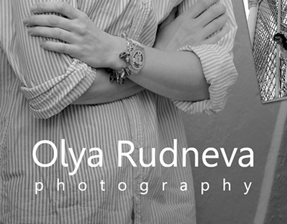 Logo for photographer Olya Rudneva