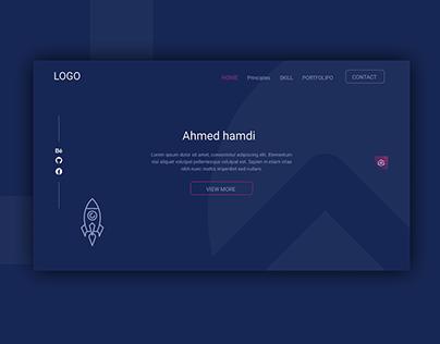 Portfolio Landing-Page