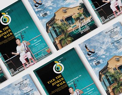 MAGAZINE LAYOUT | Travel Magazine about Malacca