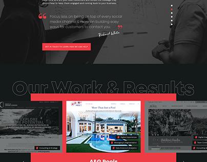 NewLead website