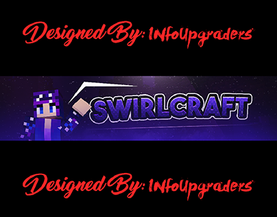SwirlCraft YouTube Banner