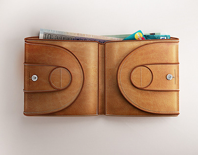 DNB Basketball Wallet