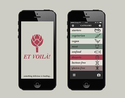 ET VOILÀ! app