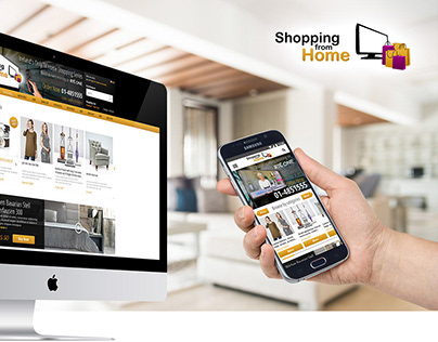 Shopping from Home TV and online shopping platform