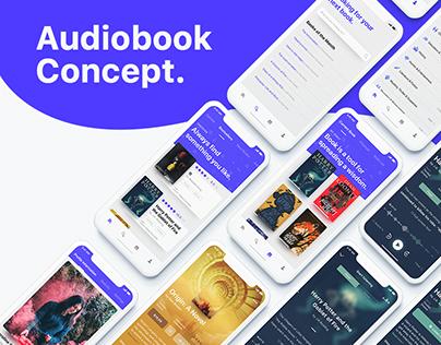 Audiobook App Concept