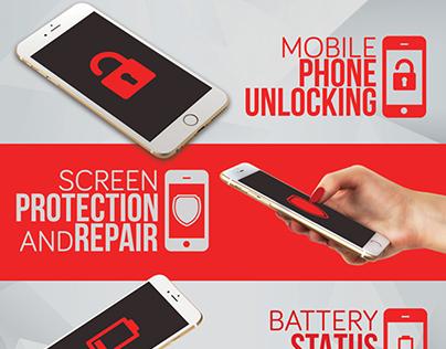 Smartphone Repair 4 Flyer/Poster