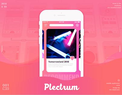 [PLECTRUM] UI