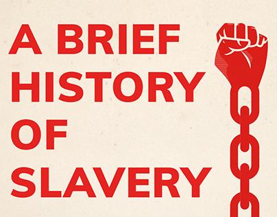Infographic slavery