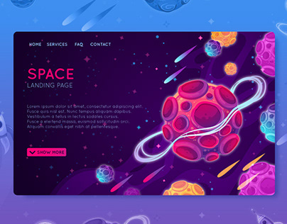 Space LANDING PAGES
