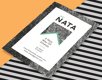 ÑATA - Flyer and Label Design