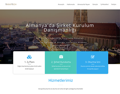 Website Design for Taraftech Consultancy