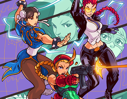 Street Fighter Legends: Cammy #2 - Danger Girl Homage