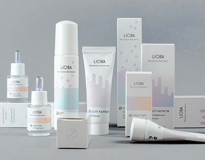 Skincare brand development and packaging design