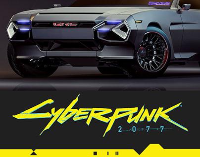 CYBERPUNK 2077, Quadra TYPE-66 3d concept