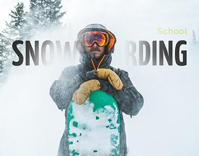 Green Board // Landing page