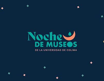 Noches de museos branding