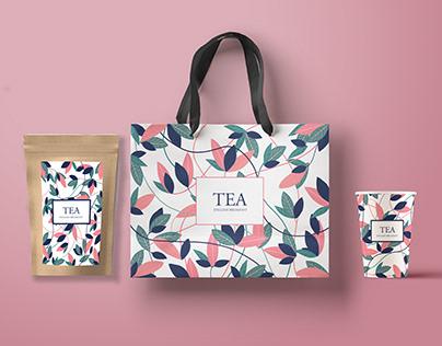 Tea package branding