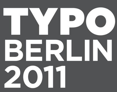 TYPO BERLIN Conference Brochure