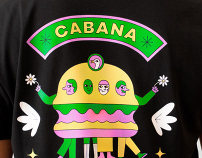 Cabana Burger x Goose Island: T-shirts