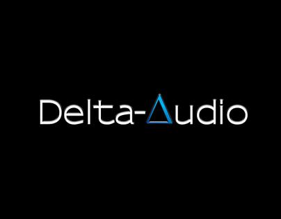 Delta Audio website design