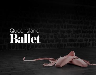 QLD Ballet, 2013 Season Website