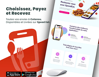 UI Design and Web Developement | Speed Eat