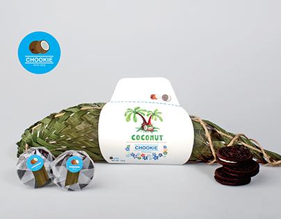 CHOOKIE - sandwich cookies package design