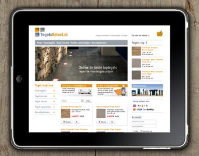 Webshop Tegels Select