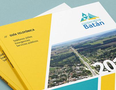 Cooperativa Batán / Guía telefónica + Flyers