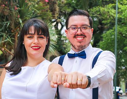 Marina e Jonatas. 2020