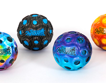 SkyScraper - High-Bounce Balls