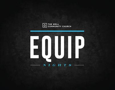 The Well Community Church - Equip Nights Logo