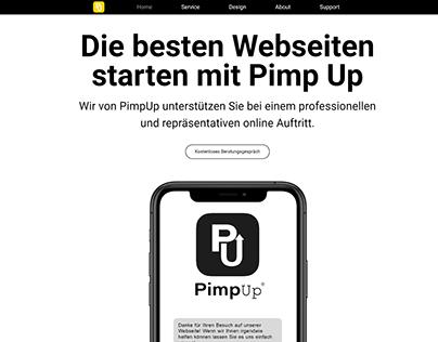 PimpUp Homepage