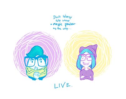 magic and potato!