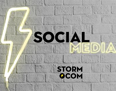 Social Media | Storm Comunicação