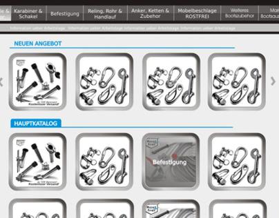 Webdesign of www.inox-expert.com