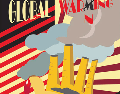 GLOBAL WARMING IN CONSTRUCTIVISM (POSTER) - MOVEMENT