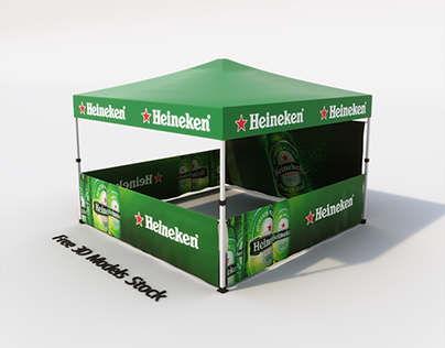 Canopy Tent Free 3D Model