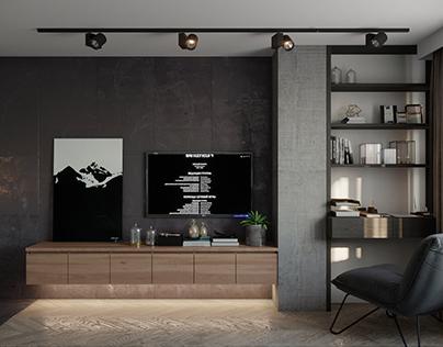 Black & White Apartment (part 1)