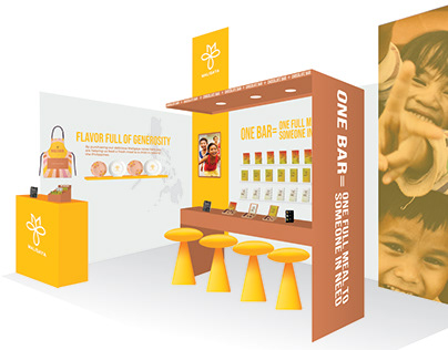 Maligaya Tradeshow booth Illustration
