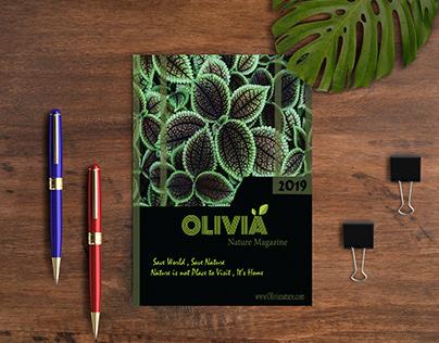 Cover For Olivia Nature Magazine