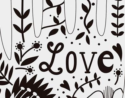 "Poster ""Love"""