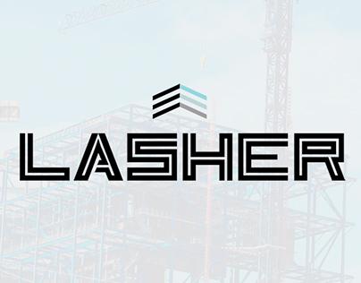 Lasher contracting branding