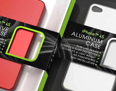 iPhone Cover Packaging