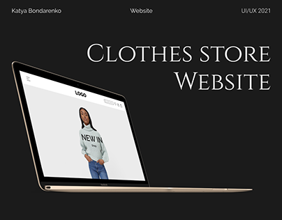 Clothes store Website   UI/UX