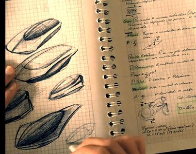 Sketching spaceships ideas